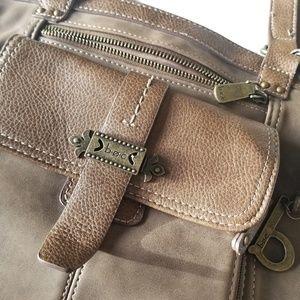 BOC brown shoulder bag purse
